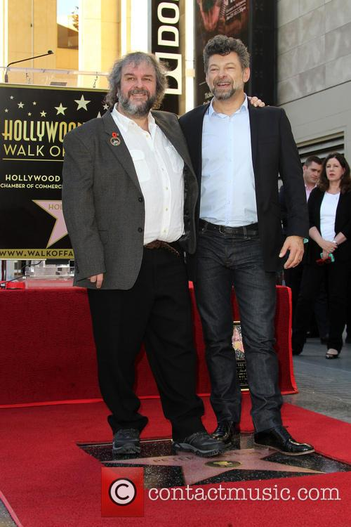 Andy Serkis and Peter Jackson 7
