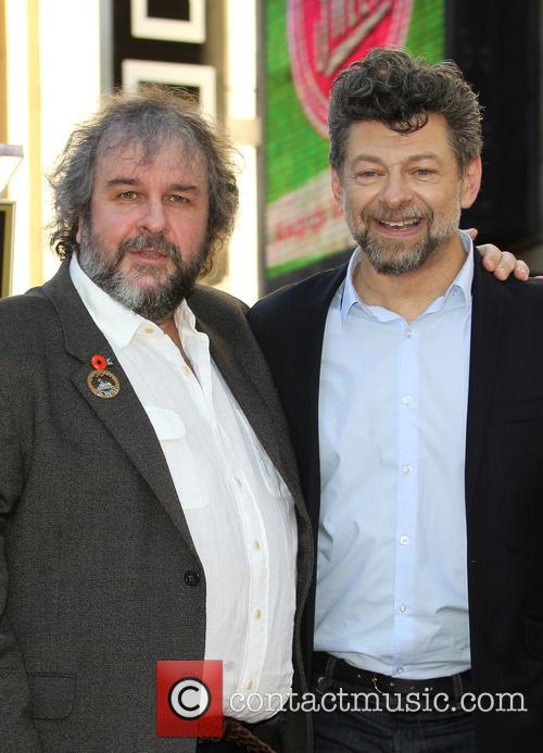 Andy Serkis and Peter Jackson 10