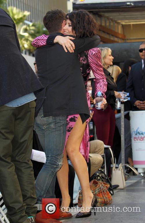 Elijah Wood and Evangeline Lilly 2