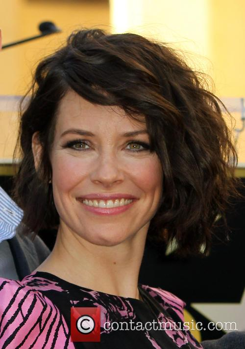Evangeline Lilly at THE HOLLYWOOD WALK OF FAME Hollywood California United States, Monday 8th December 2014