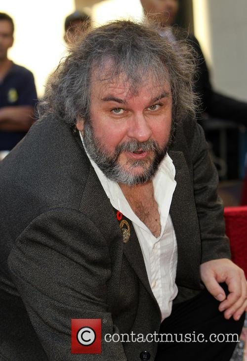 Peter Jackson honored with a star on the...