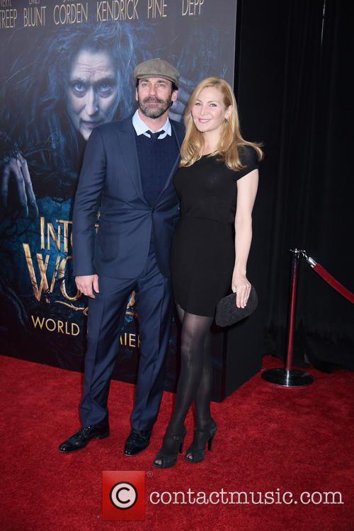 Jon Hamm and Jennifer Westfeldt 1