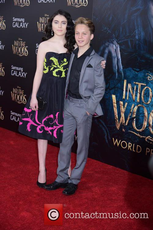 Lilia Crawford and Daniel Huttlestone 4