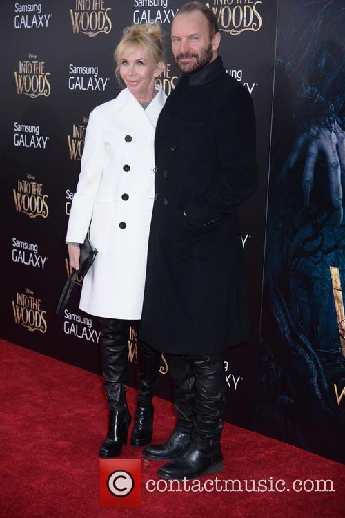Trudy Styler and Sting 2