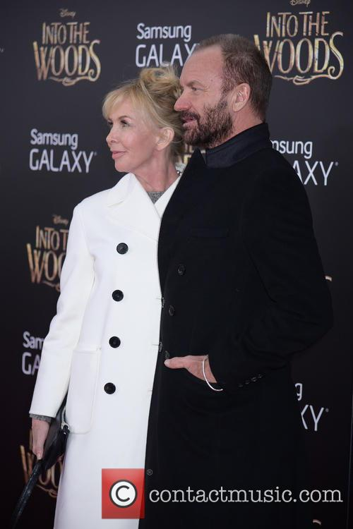 Trudy Styler and Sting 1