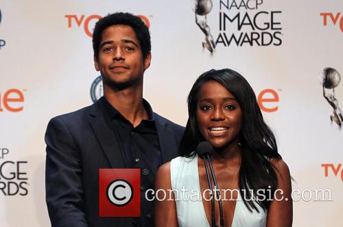 Alfred Enoch and Nischelle Turner 6