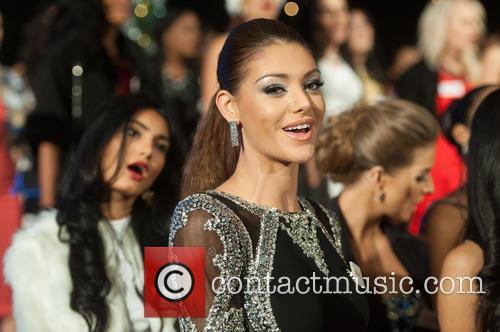 Edina Kulcsar and Miss Hungary 2