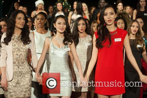 Erin Wong, Du Yang, Miss China and Kong 3