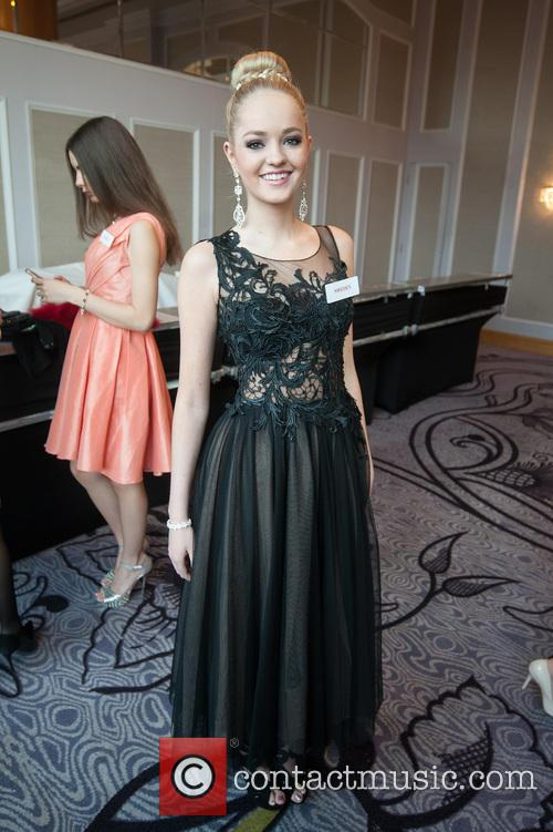 Olivia Asplund and Miss Sweden 1