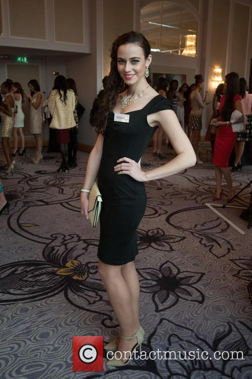 Tereza Skoumalova and Miss Czech Republic 2