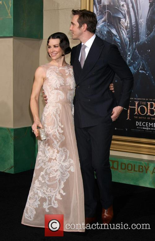 Evangeline Lilly and Lee Pace 10