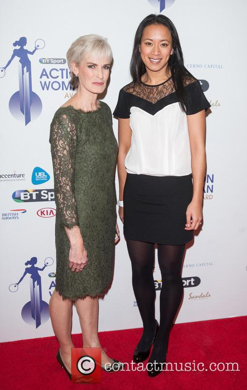 Judy Murray and Anne Keothavong 5
