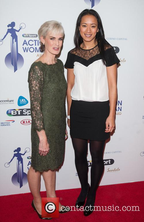 Judy Murray and Anne Keothavong 6