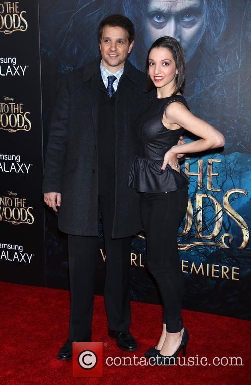 Ralph Macchio and Julia Macchio