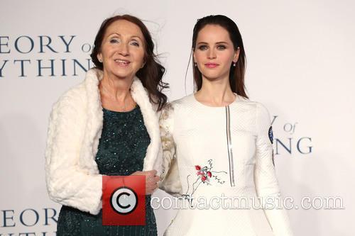 Jane Hawking and Felicity Jones 10