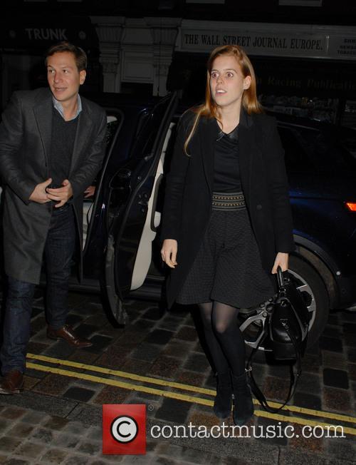 Dave Clark and Princess Beatrice 2