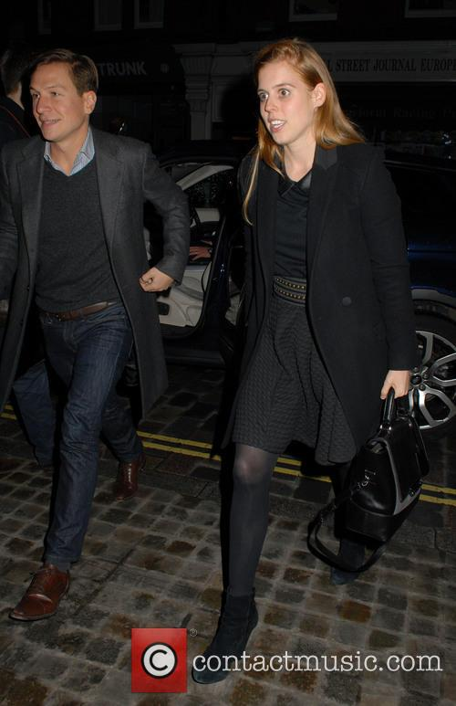 Dave Clark and Princess Beatrice 1