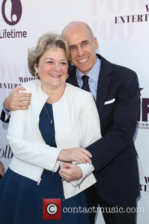 Bonnie Hammer and Jeffrey Katzenberg 3