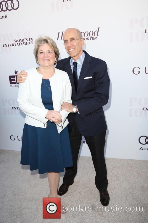 Bonnie Hammer and Jeffrey Katzenberg 1