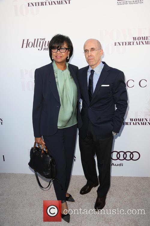 Cheryl Boone Isaacs and Jeffrey Katzenberg 2