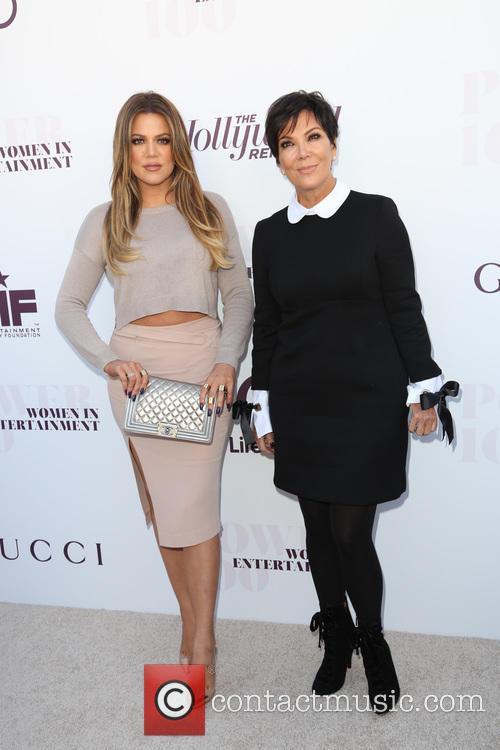 Picture - Chloe Kardashian and Kris Jenner at Milk Studios ...