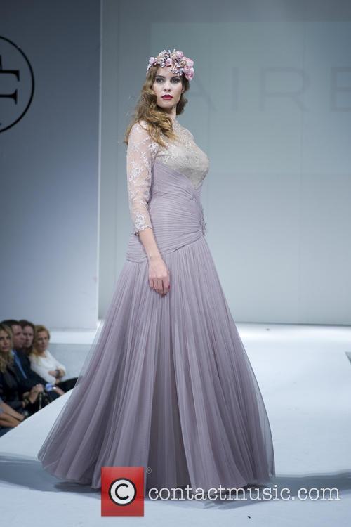 Models at the runway show of Toni Fermandez...