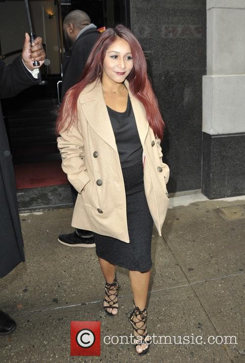 Nicole Snooki Polizzi at 'The Wendy Williams Show'