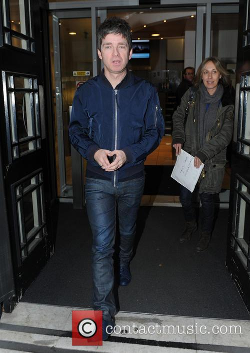 Noel Gallagher out in London