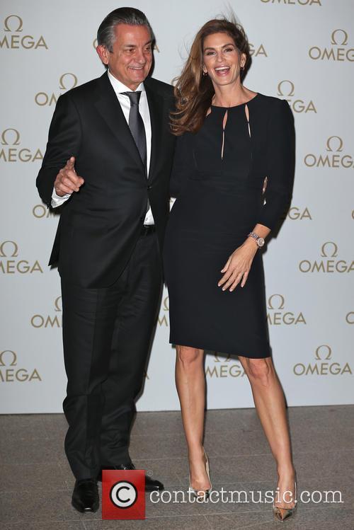 Stephen Urquhart and Cindy Crawford 2
