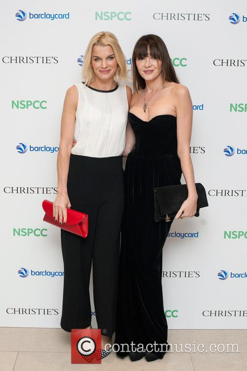 Lady Julie Montagu and Annabelle Neilson 2