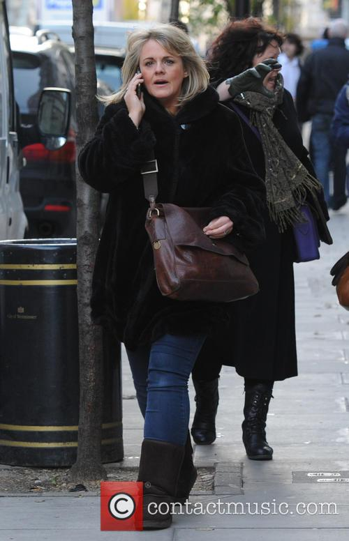 Sally Lindsay out in London