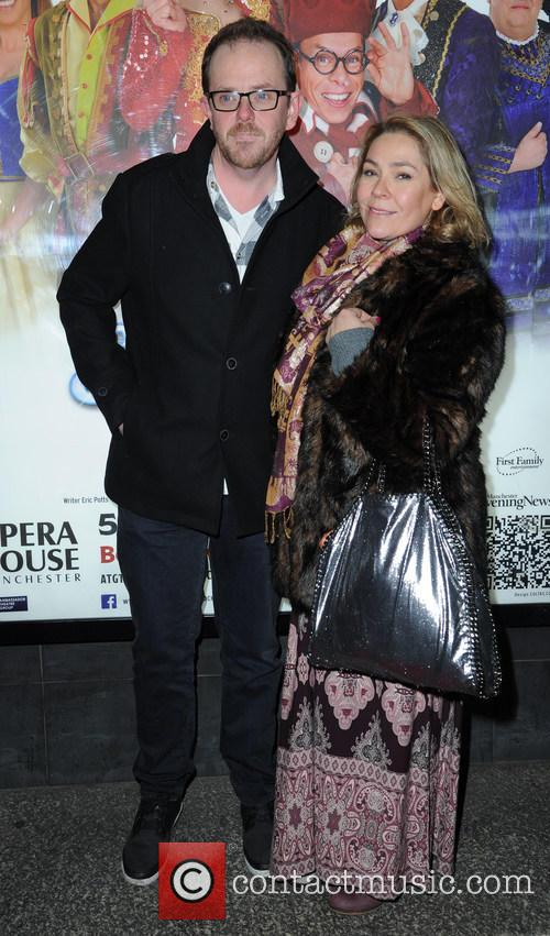 Liam Fox and Nicole Barber-lane
