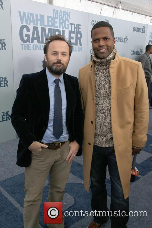 Director, Rupert Wyatt and A.j. Calloway 1