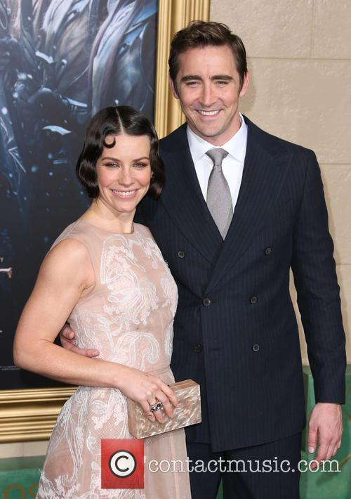 Evangeline Lilly and Lee Pace 2