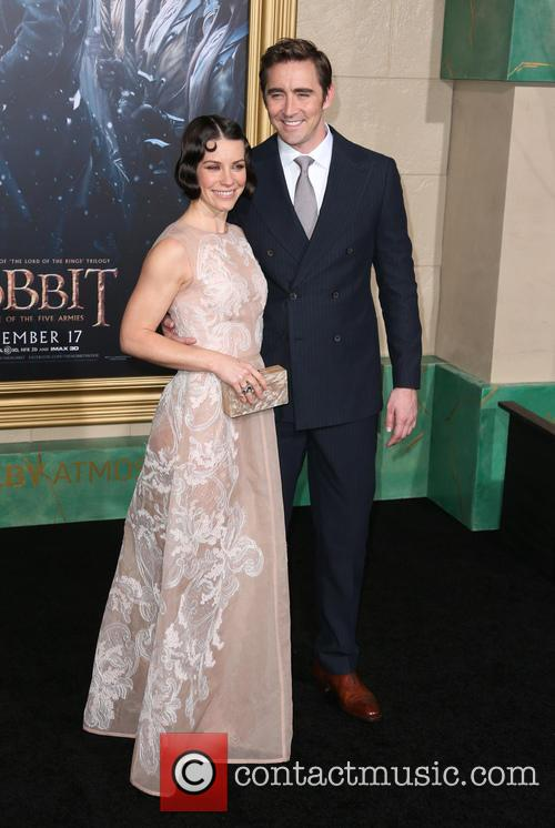 Evangeline Lilly and Lee Pace 3