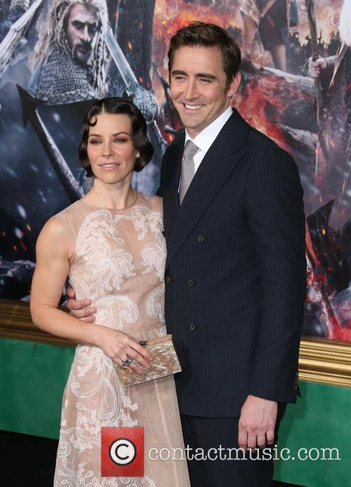 Evangeline Lilly and Lee Pace 6