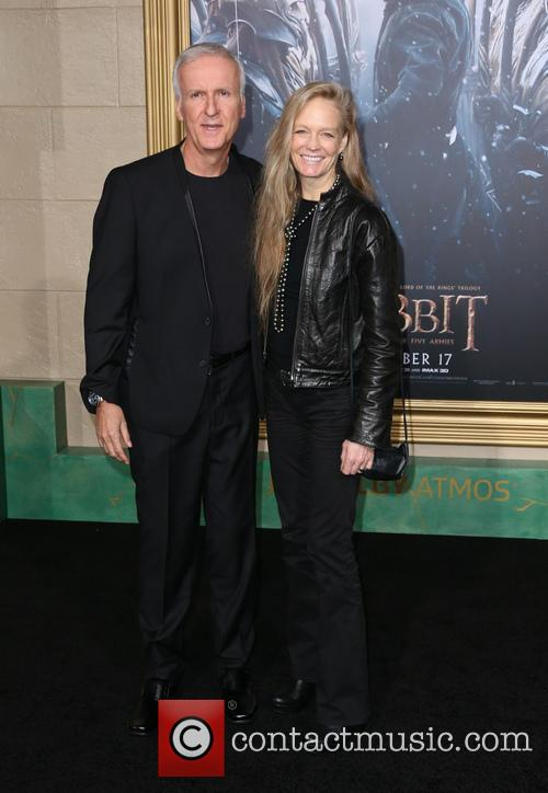 James Cameron and Suzy Amis Cameron 2