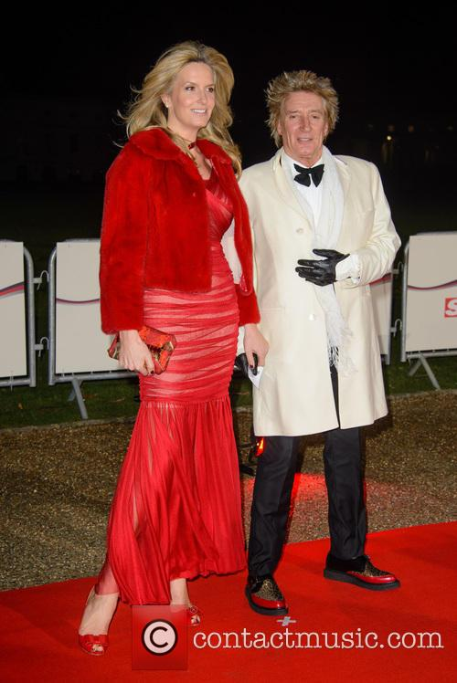 Penny Lancaster and Rod Stewart 2