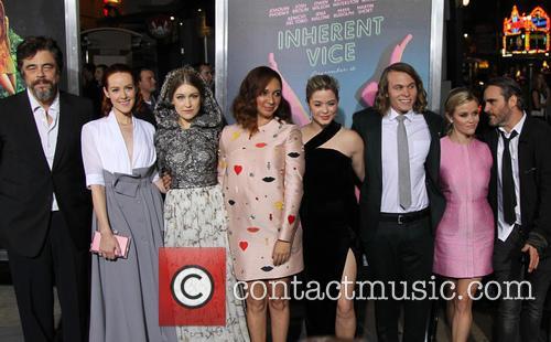 Benicio Del Toro, Jena Malone, Joanna Newsom, Maya Rudolph, Sasha Pieterse, Jordan Christian Hearn, Reese Witherspoon and Joaquin Phoenix