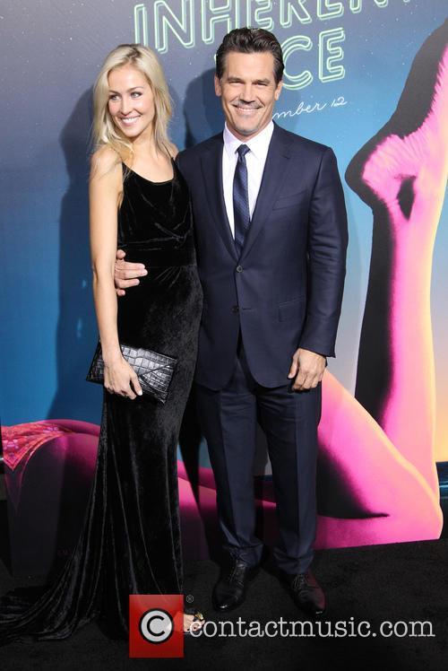 Kathryn Boyd and Josh Brolin 4