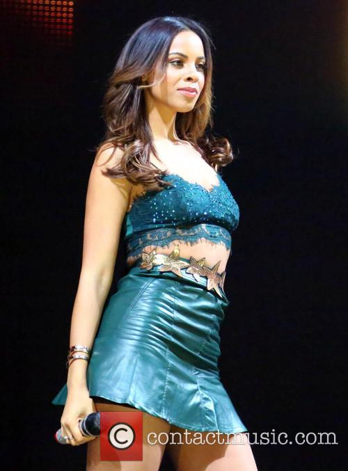 Rochelle Humes and The Saturdays 8