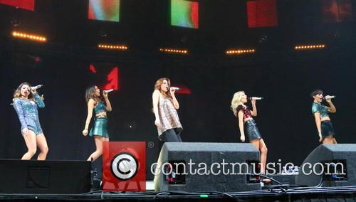 Rochelle Humes, Una Foden, Frankie Sandford, Vanessa White, Mollie King and The Saturdays 5