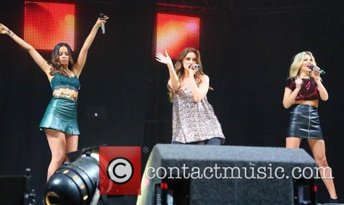 Rochelle Humes, Una Foden, Mollie King and The Saturdays 3