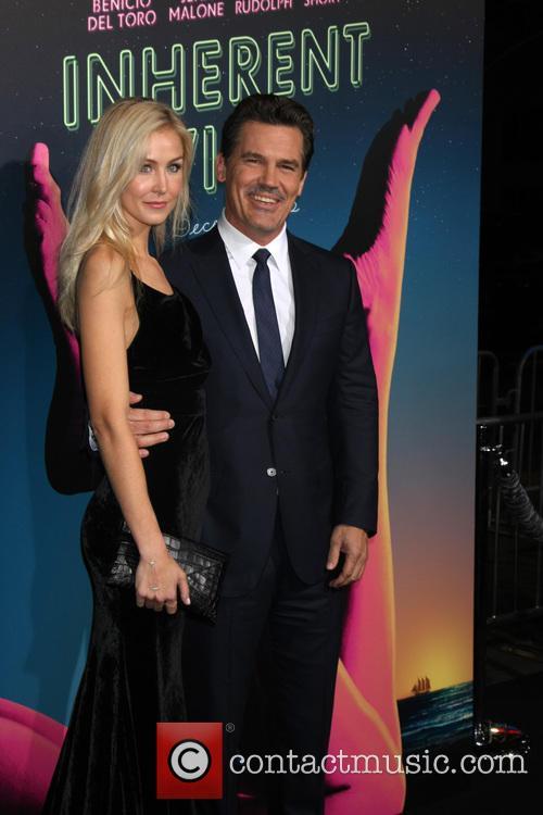 Kathryn Boyd and Josh Brolin 2