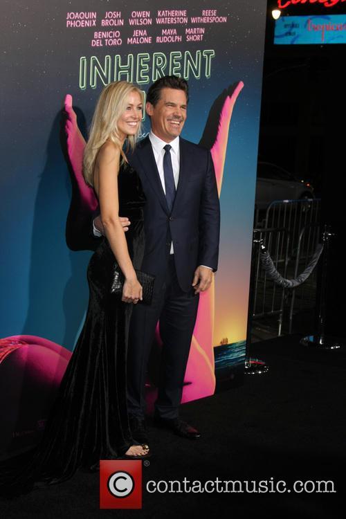Kathryn Boyd and Josh Brolin 1