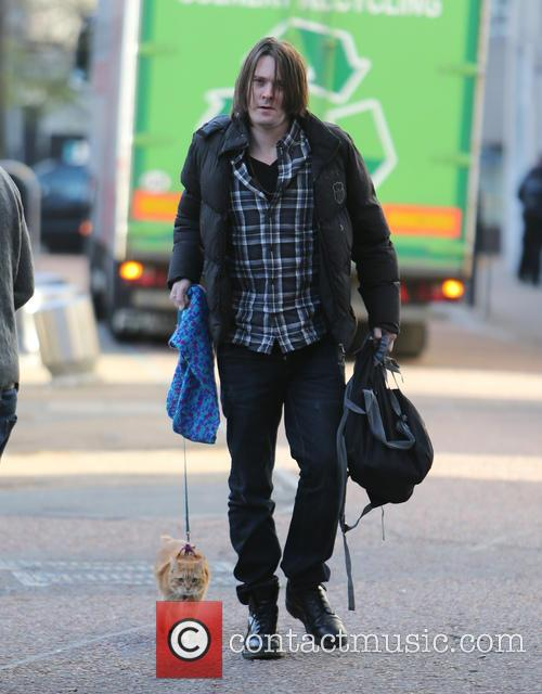 James Bowen and Bob The Cat 2