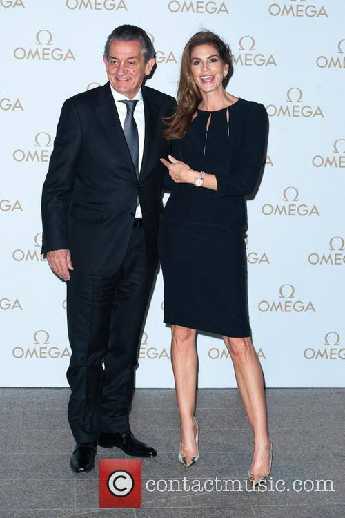 Stephan Urquart and Cindy Crawford 2