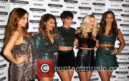 Frankie Sandford, Una Healy, Rochelle Humes Mollie King, Vanessa White and The Saturdays 3