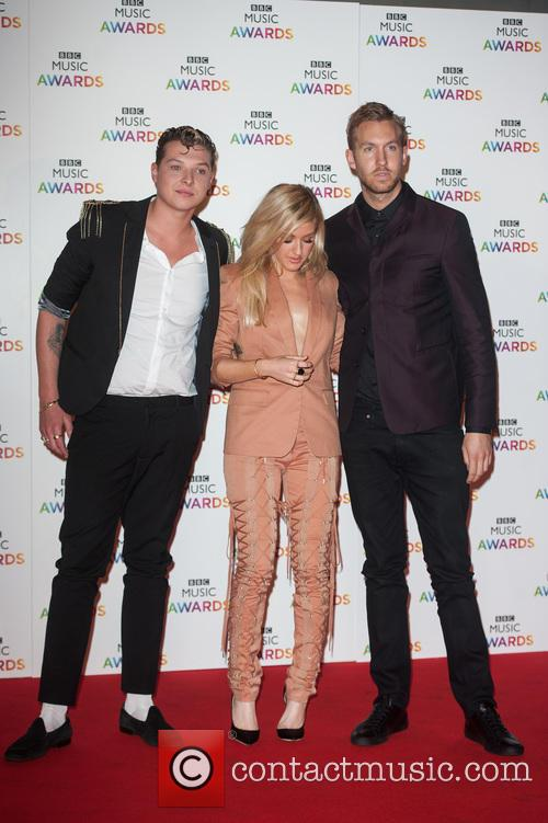 Ellie Goulding, John Newman and Calvin Harris 3