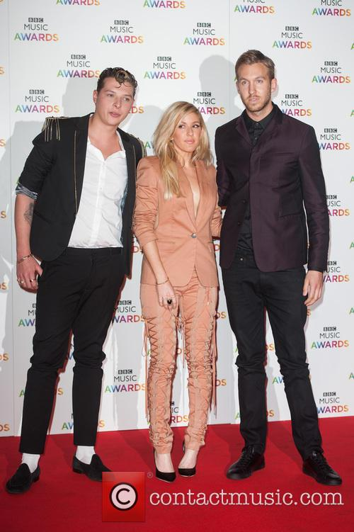 Ellie Goulding, John Newman and Calvin Harris 4